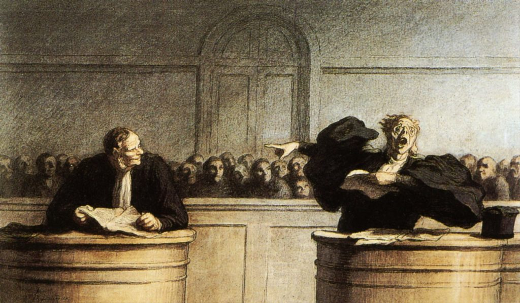 A-Famous-Cause-Honore-Daumier